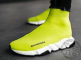 Жіночі кросівки Balenciaga Speed Trainer Yellow BB, фото 8