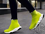Жіночі кросівки Balenciaga Speed Trainer Yellow BB, фото 9