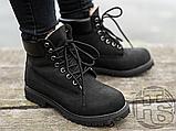 Женские ботинки Timberland Classic Boots Black Winter (с мехом), фото 3