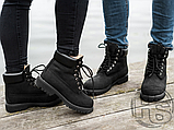 Женские ботинки Timberland Classic Boots Black Winter (с мехом), фото 5