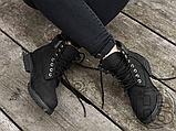 Женские ботинки Timberland Classic Boots Black Winter (с мехом), фото 8