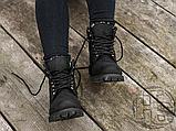Женские ботинки Timberland Classic Boots Black Winter (с мехом), фото 9