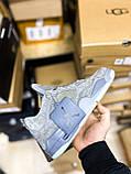 Чоловічі кросівки Air Jordan 4 Retro Kaws Grey (чоловічі Аїр Джордан 4 Ретро Каас Сірий) 930155-003, фото 2