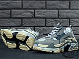 Женские кроссовки Balenciaga Triple S Trainers Gray 483513W06E11259, фото 3
