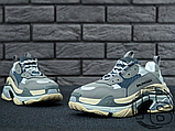 Женские кроссовки Balenciaga Triple S Trainers Gray 483513W06E11259, фото 4