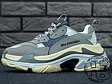 Женские кроссовки Balenciaga Triple S Trainers Gray 483513W06E11259, фото 5