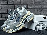 Женские кроссовки Balenciaga Triple S Trainers Gray 483513W06E11259, фото 8