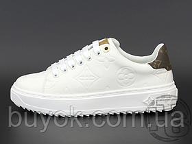 Женские кроссовки Louis Vuitton Time Out Sneaker White 1A87OS