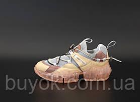 Женские кроссовки Jimmy Choo Diamond Trail Pink 21JC