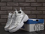Жіночі кросівки Fila Disruptor II 2 Silver Metallic, фото 5