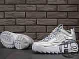 Жіночі кросівки Fila Disruptor II 2 Silver Metallic, фото 7