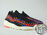 Чоловічі кросівки Nike Air Footscape Woven Black Rainbow 874892-003, фото 2
