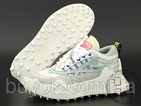 Женские кроссовки Off-White Odsy-1000 White Blue SS20 OMIA139R208000530133