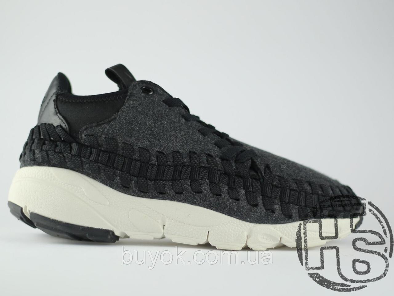 Чоловічі кросівки Nike Air Footscape Woven Chukka SE Black/Grey/White 443686-004