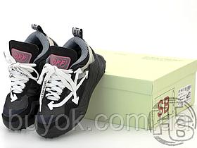 Жіночі кросівки Off-White Odsy-1000 Black White OWIA180F198000761001