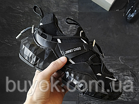 Женские кроссовки Jimmy Choo Diamond Black