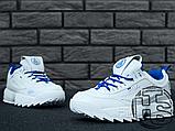 Женские кроссовки Fila Disruptor II 2 HolyPop White/Blue, фото 2
