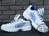 Женские кроссовки Fila Disruptor II 2 HolyPop White/Blue, фото 3