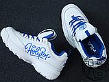 Женские кроссовки Fila Disruptor II 2 HolyPop White/Blue, фото 7