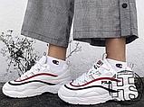 Жіночі кросівки Fila Ray White/Red/Blue, фото 4