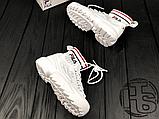 Женские кроссовки Fila Disruptor 2 II Evo Sockfit White FS1HTA1502X, фото 3
