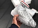 Женские кроссовки Fila Disruptor 2 II Evo Sockfit White FS1HTA1502X, фото 5