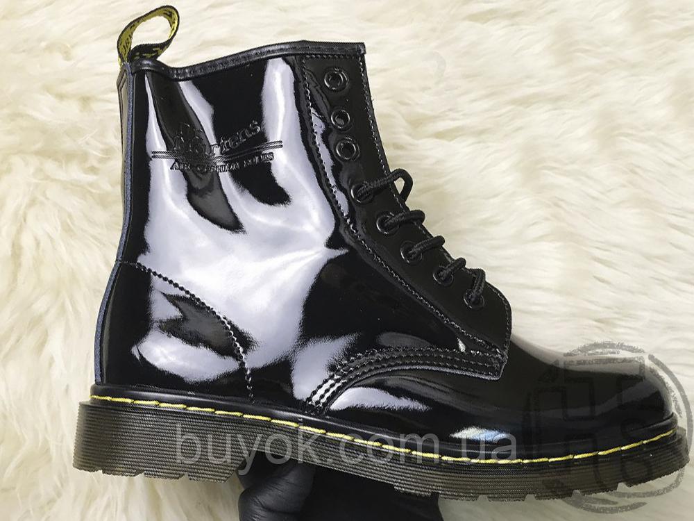 Жіночі черевики Dr Martens 1460 Gloss Black 11821011
