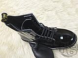 Жіночі черевики Dr Martens 1460 Gloss Black 11821011, фото 2