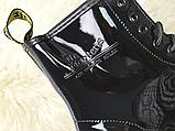 Жіночі черевики Dr Martens 1460 Gloss Black 11821011, фото 3