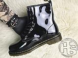Жіночі черевики Dr Martens 1460 Gloss Black 11821011, фото 8