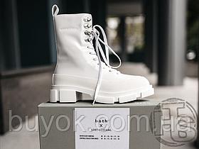 Женские ботинки Lost General x Both Gao High Boot Spazzolato White P10HSW