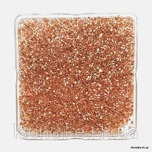 Бисер Рубка с Блеском (5/0), Некалиброванный, Цвет: Золото (50 грамм)