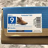 Оригинальные мужские ботинки Columbia Fairbanks 503 Elk Deep Rust (Коламбия Фейрбенкс 503 Елк Дип Раст) BM5975, фото 7