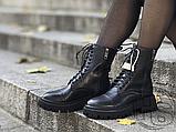 Жіночі черевики Balenciaga Tractor Black 615679WA8E91000 (матові), фото 2