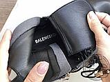 Жіночі черевики Balenciaga Tractor Black 615679WA8E91000 (матові), фото 5