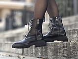 Жіночі черевики Balenciaga Tractor Black 615679WA8E91000 (матові), фото 7