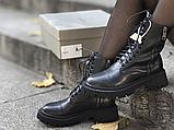 Жіночі черевики Balenciaga Tractor Black 615679WA8E91000 (матові), фото 8