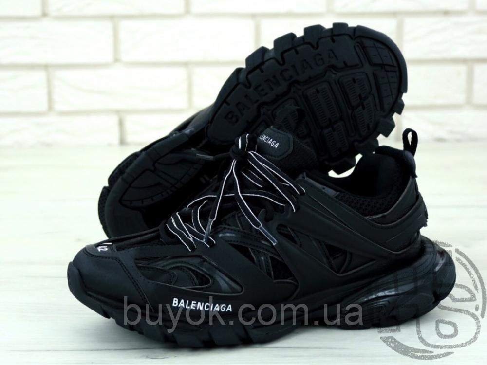 Мужские кроссовки Balenciaga Track Trainers Black 542436W1GB11000