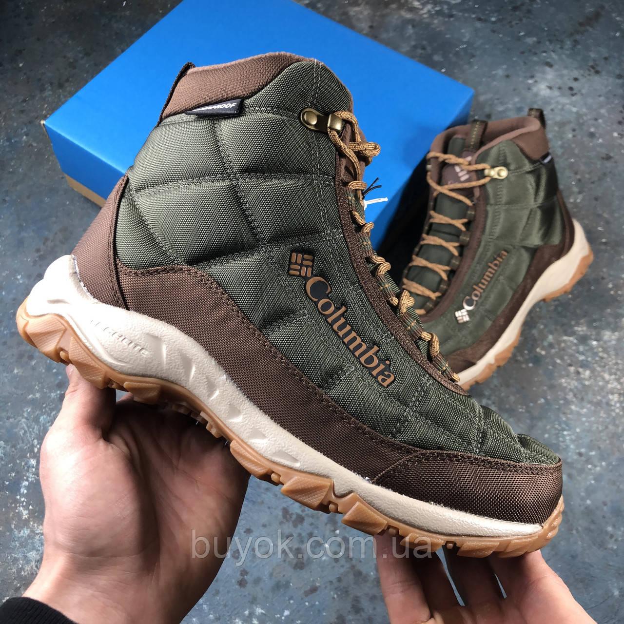 Оригинальные мужские ботинки Columbia Firecamp Boot Peatmoss Elk 2019 BM1766-213