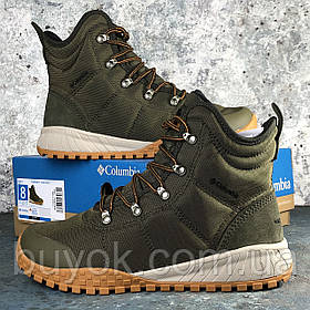 Оригинальные мужские ботинки Columbia Fairbanks Omni-Heat Nori Canyon Gold BM2806-384
