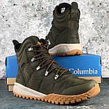 Оригинальные мужские ботинки Columbia Fairbanks Omni-Heat Nori Canyon Gold BM2806-384, фото 3
