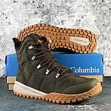 Оригинальные мужские ботинки Columbia Fairbanks Omni-Heat Nori Canyon Gold BM2806-384, фото 4