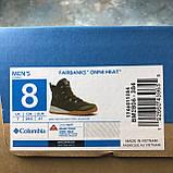 Оригинальные мужские ботинки Columbia Fairbanks Omni-Heat Nori Canyon Gold BM2806-384, фото 9