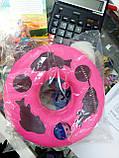 Интерактивная (развивающая) игрушка для котов и кошек Трек с мячем (и мышью), фото 5