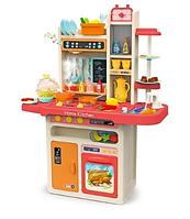 Детская большая игровая кухня Limo Toy 889-162, с посудой и аксессуарами