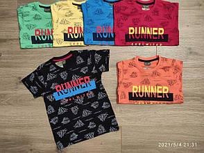 Детская футболка для мальчика Runner  р. 3-7 лет