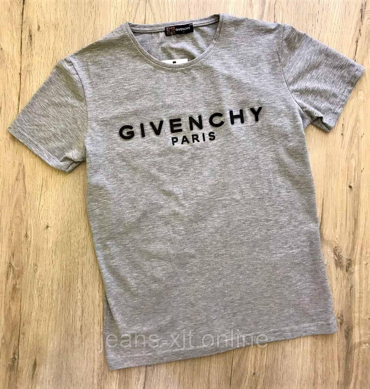Футболка Чол. L(р) сірий 1732-20 Givenchy Туреччина Літо-C