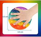 ОПТ Игрушка антистрес пупырка Push Bubble Fidget сквиш круг для снятия стресса поп ит Pop it, фото 5