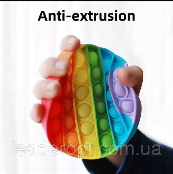 ОПТ Игрушка антистрес пупырка Push Bubble Fidget сквиш круг для снятия стресса поп ит Pop it