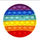 ОПТ Игрушка антистрес пупырка Push Bubble Fidget сквиш круг для снятия стресса поп ит Pop it, фото 2